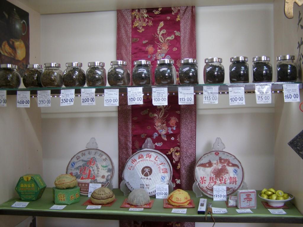 чай разных сортов