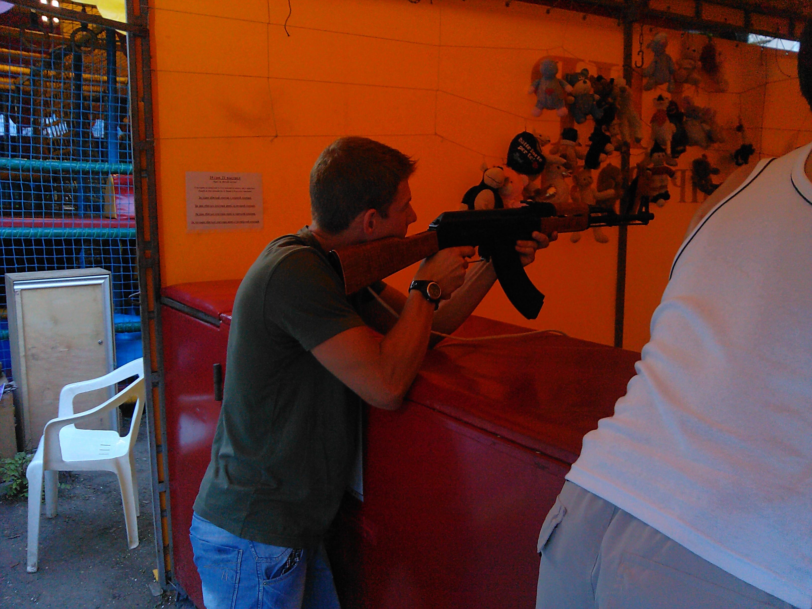 Стрельба из автомата на игрушки (Феодосия)