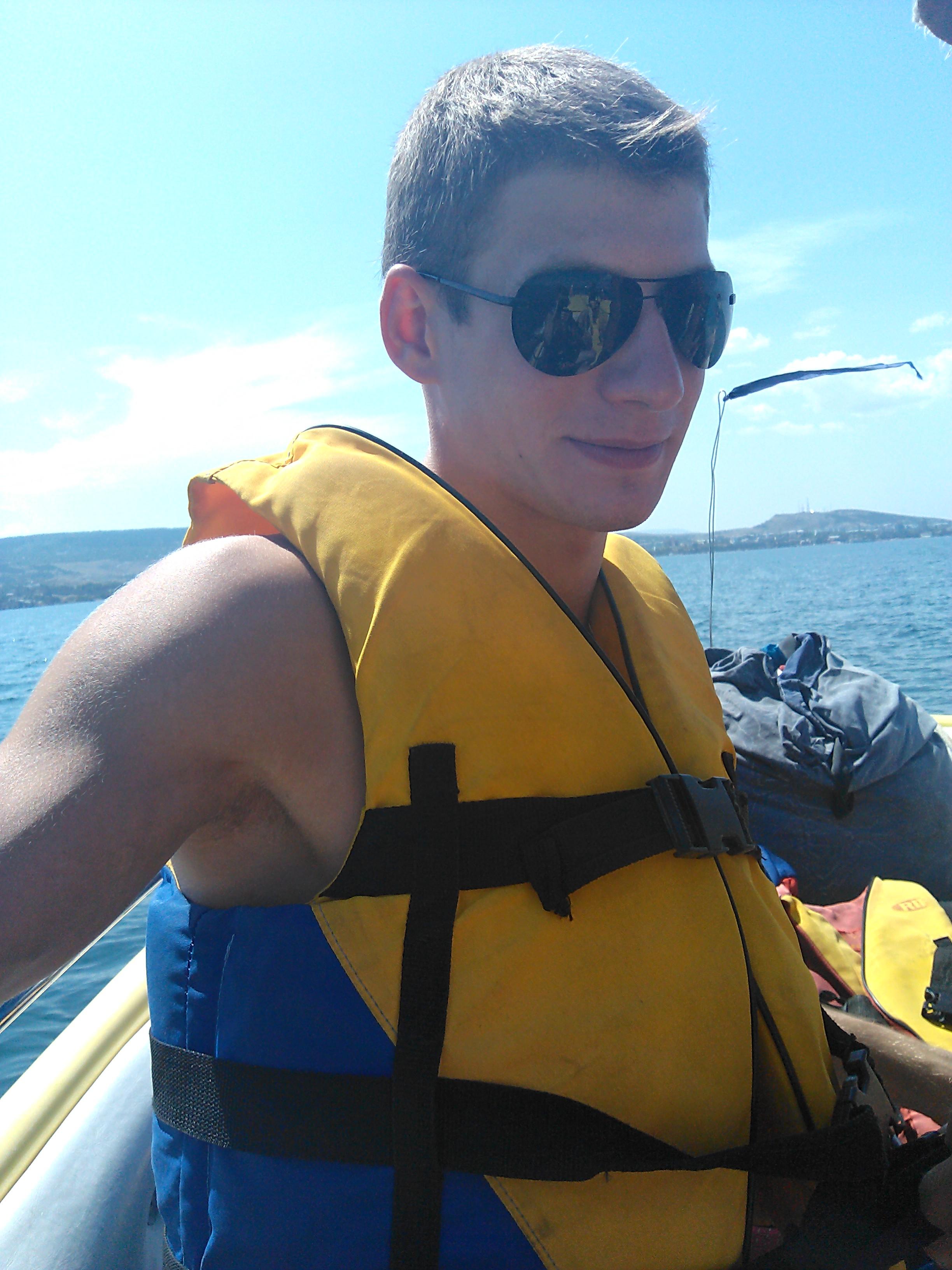 В море на парашюте (Феодосия) 2