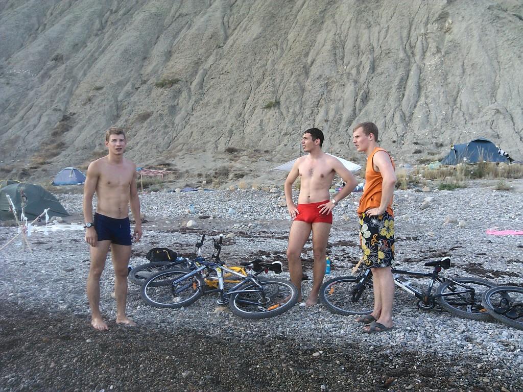 обстановка на пляже