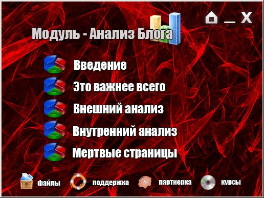 Модуль Анализ блога, Ошибки на блоге
