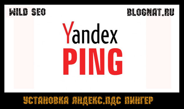 яндекс пинг сервис. настройка яндекс.пдс пингер
