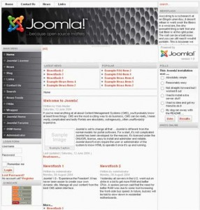 Обзор сайтов, сделанных на движках Joomla и WordPress